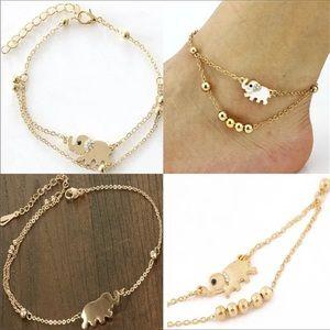 Jewelry - Elephant anklet ankle bracelet
